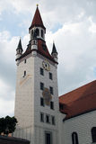 Tower of Old Town Hall, Munich Royalty Free Stock Photo