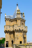 Tower in Olite Stock Images