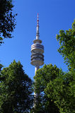Tower in Olympiapark Stock Image