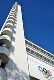 Tower of the 1952 Olympiastadion Royalty Free Stock Photography