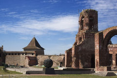 Tower in Oreshek fortress Stock Images