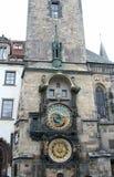 Tower Orloj in Prague Stock Photo