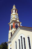 Tower of orthodox church Stock Images
