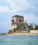 Tower of Ouranoupoli in Greece Royalty Free Stock Image