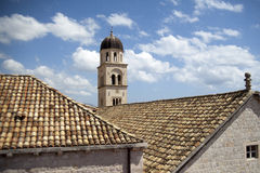 Tower over Dubrovnik in Croacia Royalty Free Stock Images