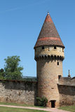 Tower over the ramparts Stock Photos