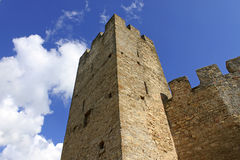 Tower over sky Royalty Free Stock Photos
