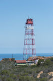 Tower overlooking ocean Royalty Free Stock Image