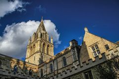 University of Oxford royalty free stock photography