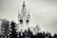Palace of Culture - landmark attraction in Iasi, Romania Stock Photos