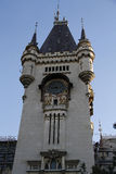 Tower of the Palace of Culture from Iasi. Romania Stock Photo
