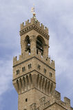 Tower of Palace in Florence Tuscany Royalty Free Stock Images