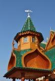 Tower of the palace of Tsar Alexei Mikhailovich Stock Photo
