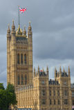 Tower at palace of westminster Stock Photo