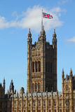 Tower of Palace of Westminster Stock Photos