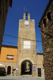 Tower of Palau-Sator Baix Emporda Girona,Spain Stock Image