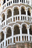 The tower of Palazzo Contarini del Bovolo Stock Photo