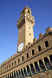 Tower of Palazzo Vecchio Stock Photo
