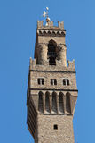 Tower of The Palazzo Vecchio Royalty Free Stock Photography