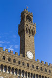 The tower of the Palazzo Vecchio Royalty Free Stock Photography