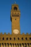 Tower of Palazzo Vecchio Stock Photo