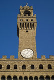 Tower of Palazzo Vecchio, Florence, Italy Royalty Free Stock Images