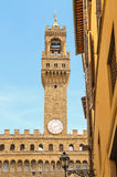 Tower of the Palazzo Vecchio, Florence,Italy Royalty Free Stock Image
