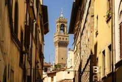 Tower of Palazzo Vecchio Stock Image