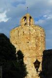Tower of Pals, Girona, Costa Brava,Catalonia, Spain Stock Images
