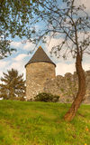 Tower of Parkes Castle - County Leitrim, Ireland Stock Photos