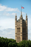 Tower of the Parliament Building, London, England Royalty Free Stock Image