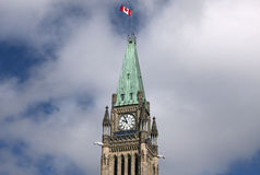 Tower of Parliament Hill Stock Photography