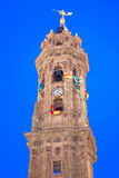 Tower of The Parroquia San Sebastián - Antequera Royalty Free Stock Photo