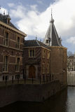 The Tower is part of the Binnenhof in The Hague. Stock Photos
