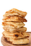 The tower of the patella fried in oil Stock Photography