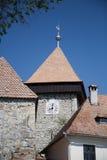 Tower at peasant fortress Drauseni Stock Images