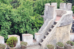 Tower of Pena Castle, Sintra Royalty Free Stock Photos