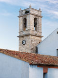 Tower in Peniscola castle, Spain Royalty Free Stock Images