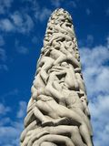 Tower of People - Vigeland Sculpture Park Royalty Free Stock Photos