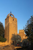 Tower of Peratallada in emporda, Royalty Free Stock Photography