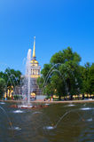 Tower of Peter and Paul Fortress Royalty Free Stock Photos