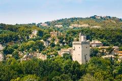 Tower Philippe le Bel, Villeneuve les Avignon Stock Photos