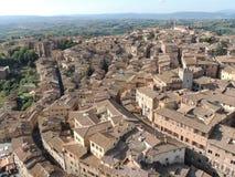 Panorama Siena Stock Photography