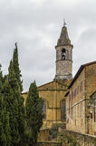 Tower, Pienza Stock Photo