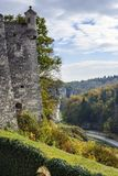 Tower of Pieskowa Skala castle Royalty Free Stock Image