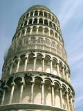 Tower in Pisa Royalty Free Stock Images