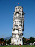 Tower of Pisa. The leaning tower of Pisa, one of Italy's well-known symbols stock photos
