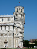Tower of Pisa. The leaning tower of Pisa, one of Italy's well-known symbols stock images