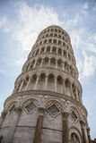 Tower of pisa. Torre pendente. Piazza dei Miracoli complex with baptistery, cathedral and tower of Pisa, Italy Stock Photo
