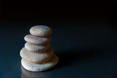 Tower of planning stones steps balance Stock Image